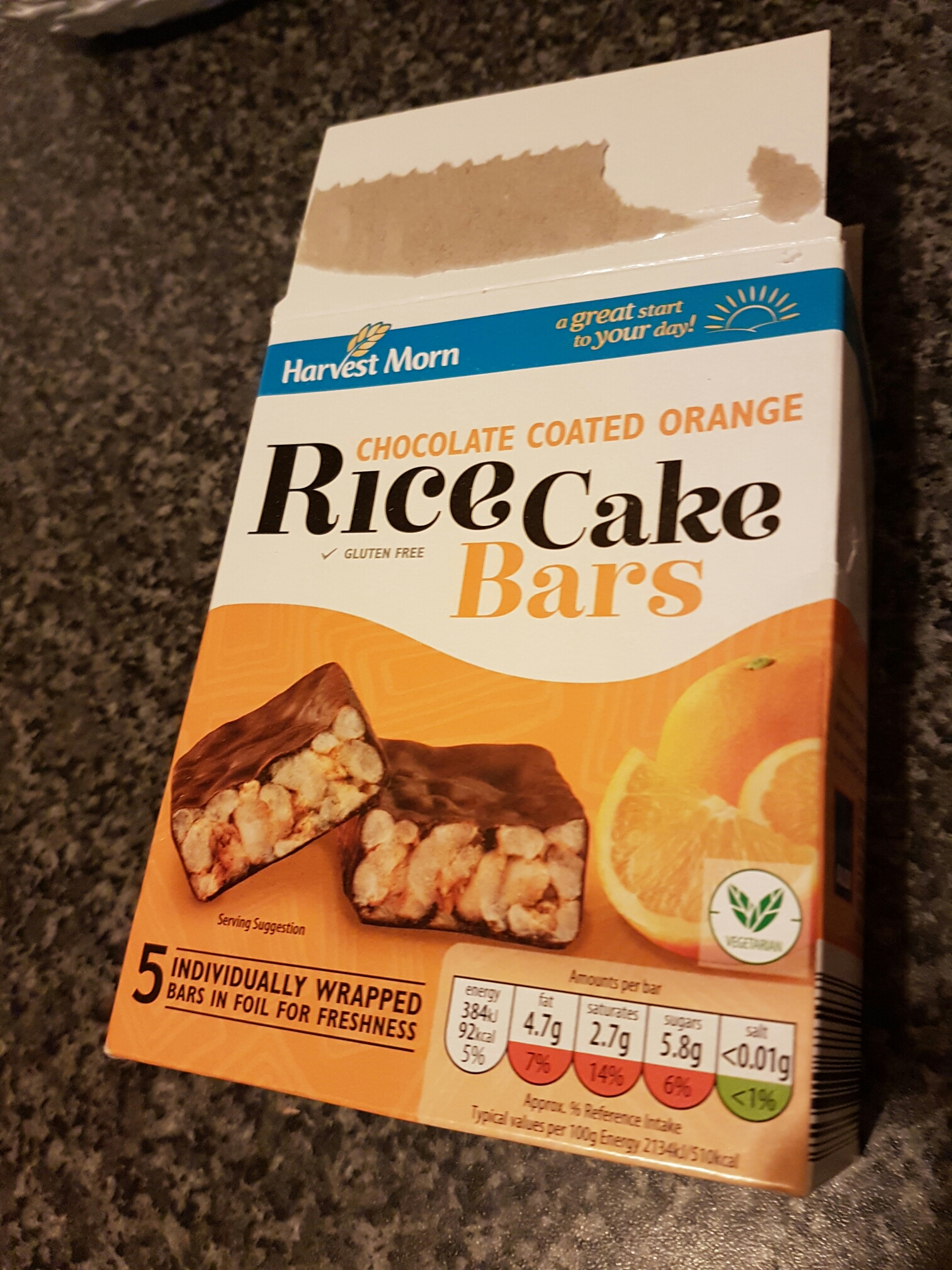 Aldi Rice Cake Bars